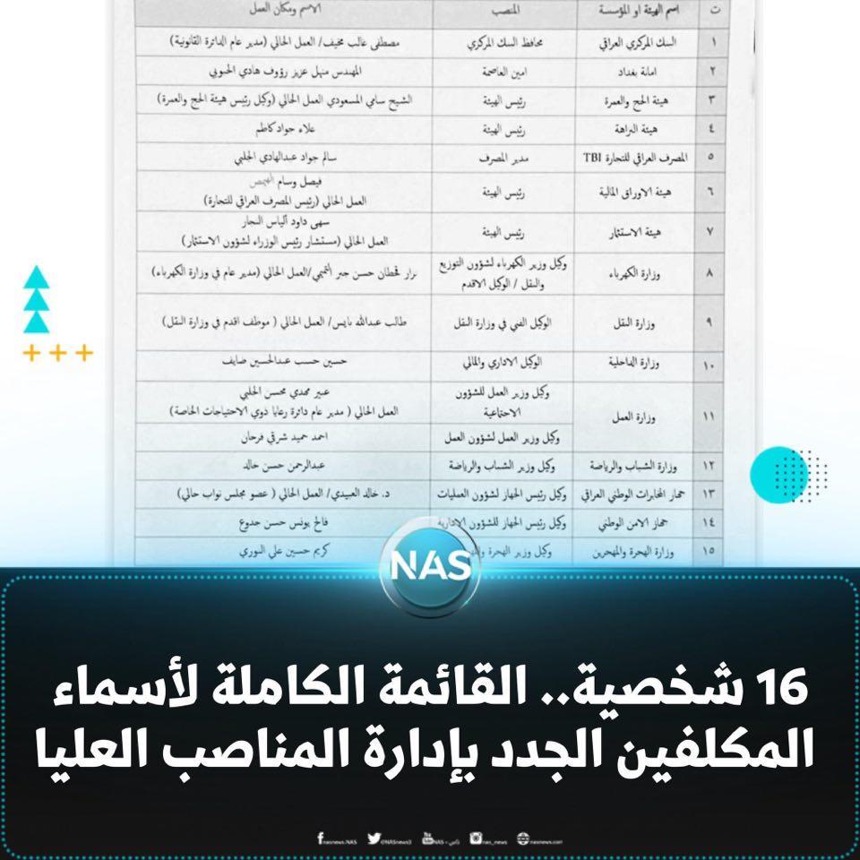 أول تحرك لمحافظ البنك المركزي العراقي الجديد